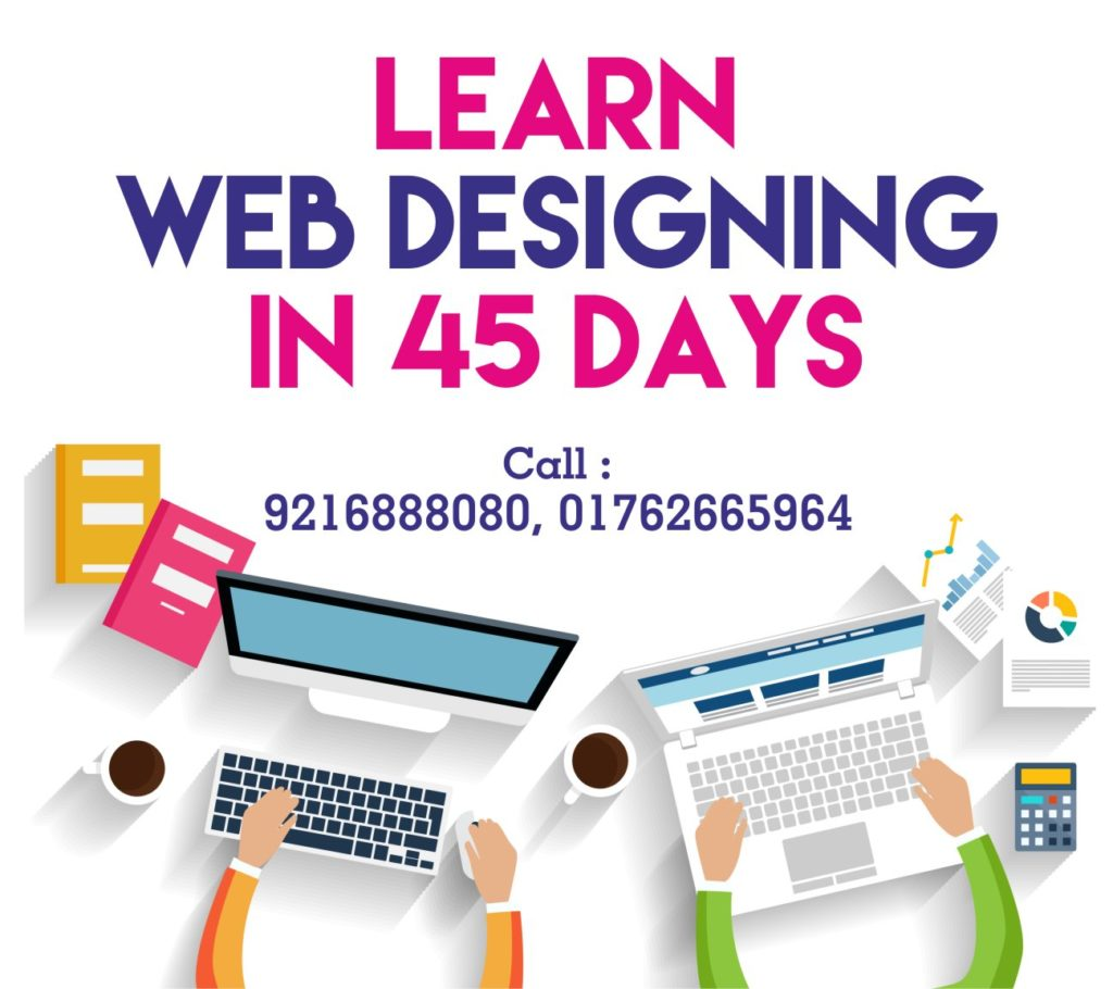 learn web design web designing course in zirakpur for working professionals 657